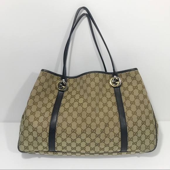 be3478594065 Gucci Bags | Authentic Fabric Gg Tote Large | Poshmark